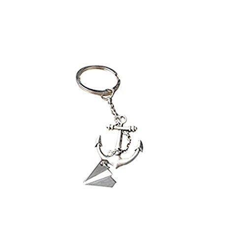 The ship submarine anchor keychain jewelry 181b941ee