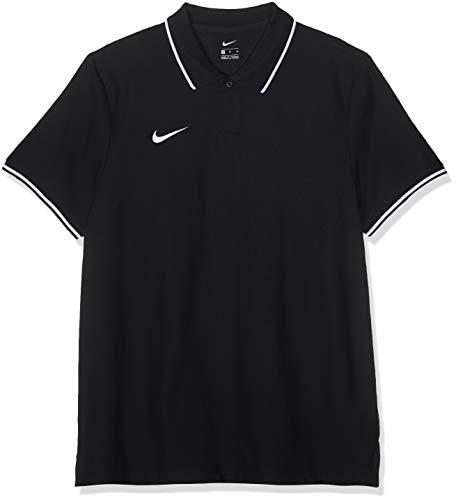 Nike Herren M TM CLUB19 SS Polo Shirt, Schwarz (Black/White/010), XL -