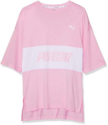 Puma Mädchen Modern Sports Boyfriend TeeG T Shirt, Pale Pink, 152