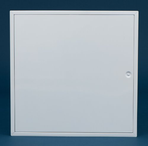 300mm x 300mm Metal Non Fire Rated Hinged Access Panel Picture Frame Twist Lock by Timloc Gain Frame