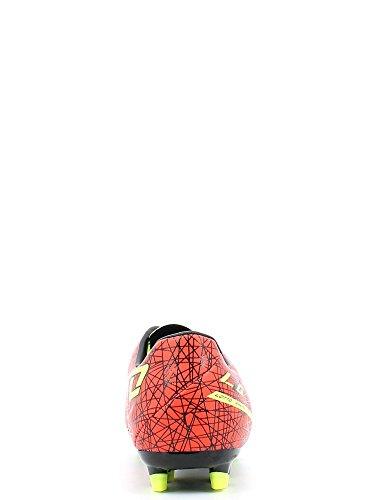 Lotto LZG VII 700FGT Synthetik Fußball Stiefel rot-gelb-schwarz