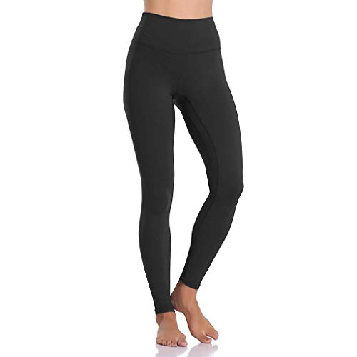 ing Pocket Leggings Fitness Sport Laufen Yoga Athletic Pants(Black1,S) ()