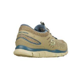 Skechers GratisBig-Idea Damen Sneakers Taupe / Blue