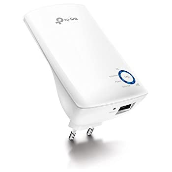 TP-Link TL-WA850RE WLAN Repeater (300 Mbit/s, App Steuerung, 1 Port, WPS, LED abschaltbar, kompatibel mit allen WLAN Geräten)