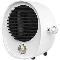 Calentador Mini Sol Pequeño energía Aire Acondicionado pequeño Dormitorio Ahorro de energía Estudiante Hogar Mute (Color : Blanco)