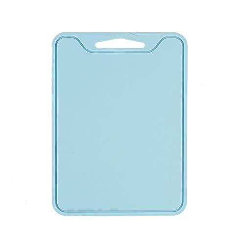 JYSL 1 STK Flexible Silicone Planche à Découper Plaque Anti-Dérapant Légumes Viande Hacher Block (Couleur : Light Blue) -