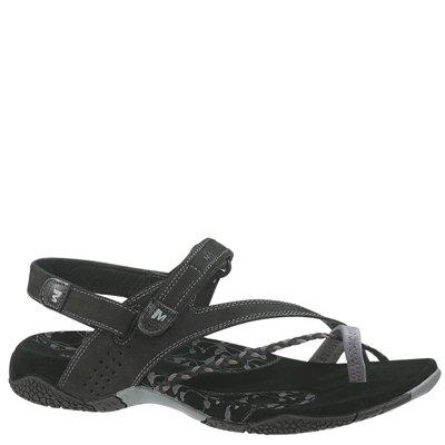 Merrell  Siena J36420,  Damen Flip-Flops , schwarz - Schwarz - Größe: EU 42
