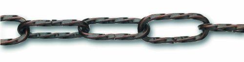 Chapuis LVBL16 Lampenkette - Verdrillter bronzierter Stahldraht - 10 kg - Durchmesser 2,2 mm -...