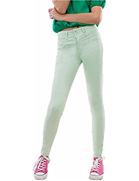JEAN TIFFOSI MUJER ONE SIZE COLORS DOUBLE UP 17 (VERDE CLARO)