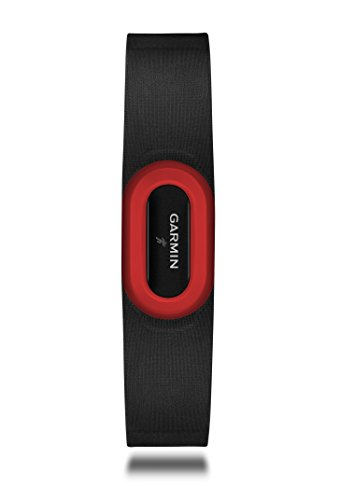 Garmin HRM-Run Heart Rate Monitor Strap, (Red / Black)
