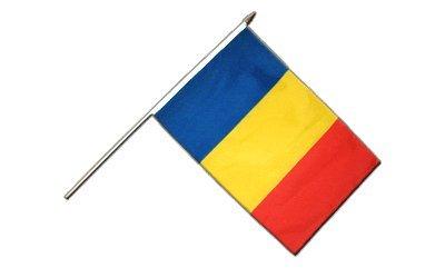 Stockflagge Rumänien - 30 x 45 cm