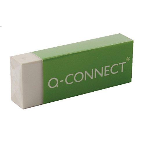 Q Connect PVC - Gomma per cancellare, bianca