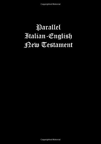 Parallel Italian-English New Testament