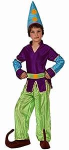 Atosa-10767 Disfraz Duende, Color Verde, 10 a 12 años (10767