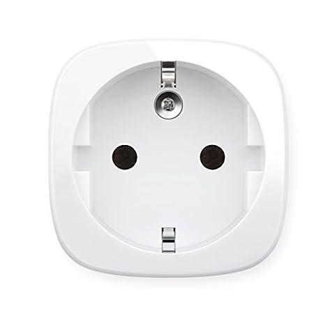 Elgato Eve Energy - Capteur de consommation, interrupteur sans fil avec technologie Homekit d'Apple