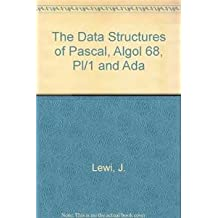 Data Structures of Pascal, Algol 68, PL/1 and Ada