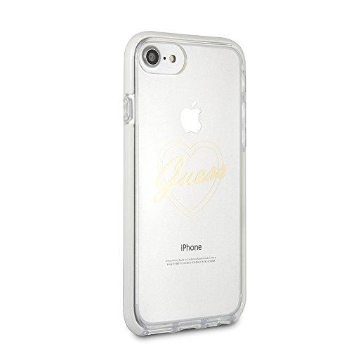 CG Mobile Ratet mal iPhone 8 & iPhone 7 Tasche - Durchsichtig TPU Handy-Fall   Leicht zugängliche Ports   Offiziell lizensiert.