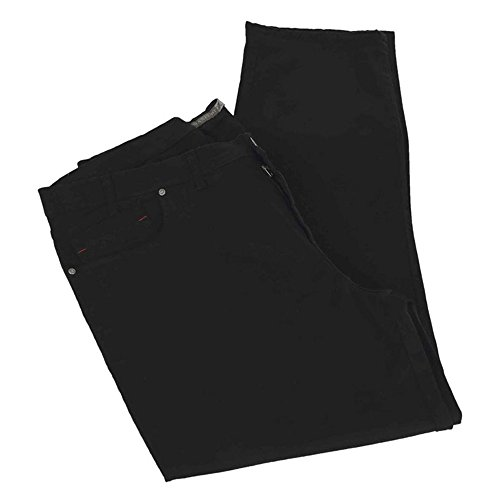 Calzone pantalone taglie forti uomo Maxfort SAXON stretch - Nero, 86 GIROVITA 172 CM
