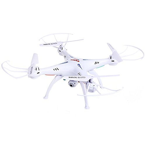 SYMA RADIO-CONTROLLED PRODUCT Syma X5SC-1 - Quadcopter Drone with Remote Control and HD Camera, White