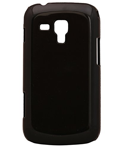 iCandy™ Glossy Hard Back cover for Samsung Galaxy S Duos S7562 - Black  available at amazon for Rs.99