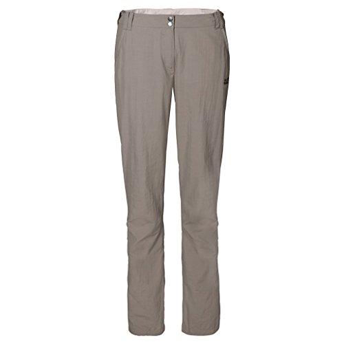 Jack Wolfskin Damen Hose Kalahari Pants W, Moon Rock, 40