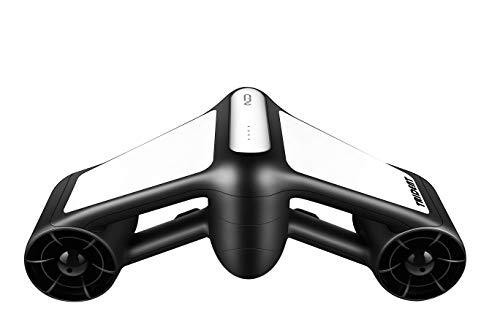 Geneinno Trident Unterwasserscooter Tauchscooter Seascooter schwarz/weiß*