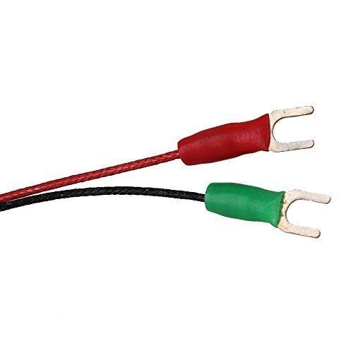 cnbtr gaz d'échappement thermocouple type K Sonde Capteur Câble haute température (1.0x 100mm)