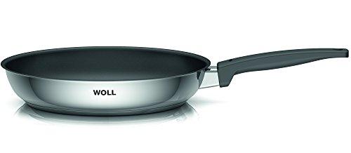 Woll 520NC Concept Acero Inoxidable-sartén con, Base de Revestimiento para cocinas de inducción, diámetro 20 cm, 4,5 cm de Alto
