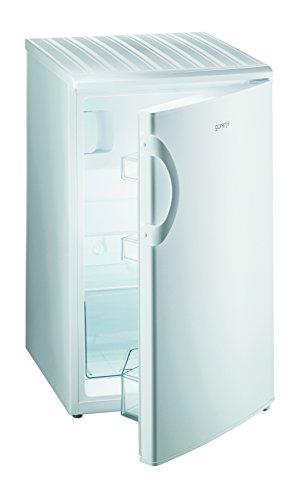 Gorenje RB 3091 ANW Kühlschrank/A+ / 85 cm 168 kWh/Jahr / 84 L Kühlteil / 14 L Gefrierteil/LED-Innenbeleuchtung/Flaschenablage in der Innentür/weiß