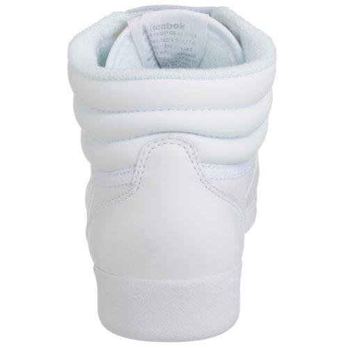 Reebok Freestyle Hi, Sneakers da Donna Bianco (int-white/silver)