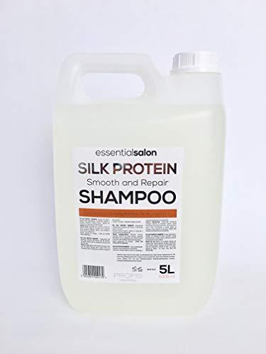 essentialsalon Aufbau-Shampoo mit Keratin und Seidenproteine ohne Silikone - 5 Liter