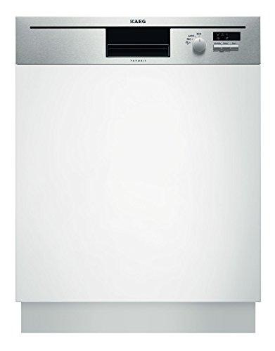AEG-Electrolux FAVORIT F50502IM0 Geschirrspüler Teilintegriert / A+ / 290 kWh/Jahr / 12 MGD / 3080 Liter/Jahr / 11 % weniger Energieverbrauch als Klasse A