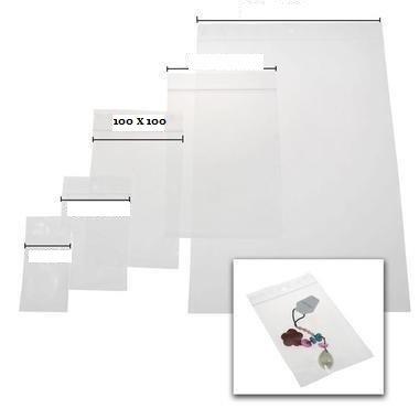 sacchetti per gioielli o plastica Zip–formato 100x 100mm/set di 500codice 15g110100360