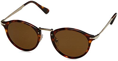 Persol Herren 3166 Sonnenbrille, Braun (Havana/Polarbrown), 49