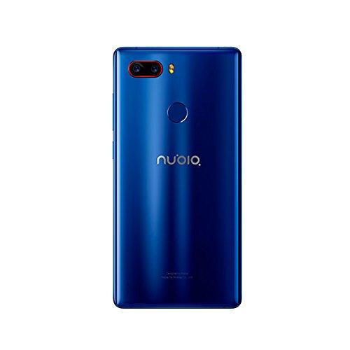 Nubia Z17S - Smartphone Android 7 0  5 73  FHD 2040 1080 18 9  4G  c  mara 23MP 12MP  8GB RAM  128GB almacenamiento  procesador Qualcomm Snapdragon 83