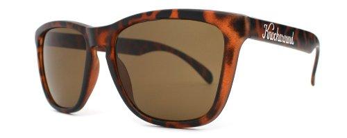 KNOCKAROUND - Damen Sonnenbrille Matte Tortoise Shell Classic Premium