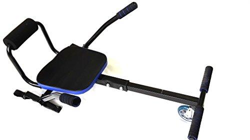 Preisvergleich Produktbild Fm-electrics FM-Airkart / Hoverkart Gokart Aufsatz für Hoverboard Howerboard passend für 6, 5 Zoll 8 Zoll und 10 Zoll Hoverboards Renn Sitz