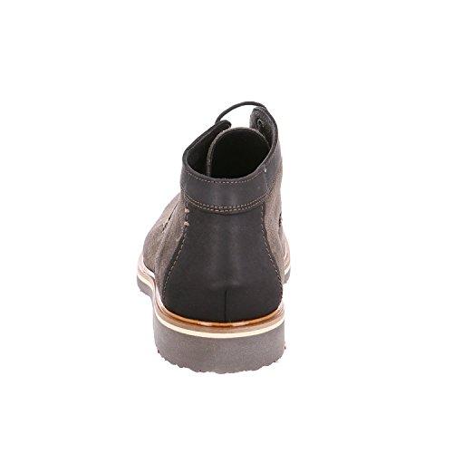 LLOYD Herren Valentin Gore-Tex Desert Boots Grau (Lava/Schwarz)