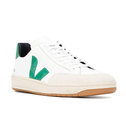 VEJA - XDM010296 - Sneaker DA Uomo Modello V-12 B-Mesh White Emeraud