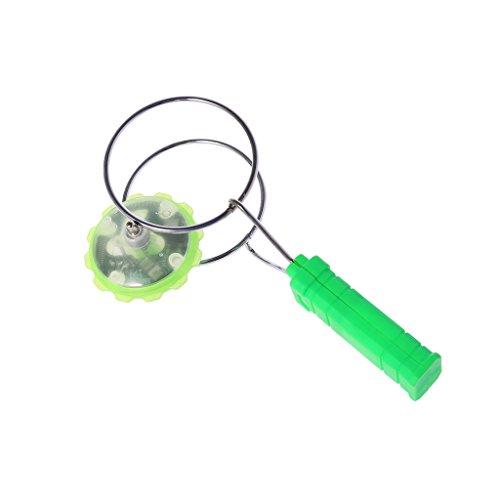 ECMQS Gyro & YoYo Spielzeug - Magnetisch Gyro Rad Zauber LED Bunt Licht Gyro YoYo Spielzeuge Kinder Geschenke