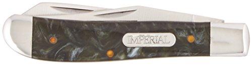 Schrade Imperial IMP17T Cuchillo Tascabile,Unisex - Adulto, Plateado, un tamaño