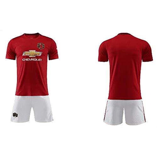 Fußballbekleidung, Fußballverein Manchester United Football Club (MUFC), Fußballsportbekleidung, Fußball-T-Shirts für Erwachsene und Kinder-24 -