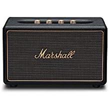 Marshall Acton Multi-Room 30W Negro altavoz - Altavoces (Inalámbrico y alámbrico, 3,5 mm, 30 W, 52-20000 Hz, Negro)