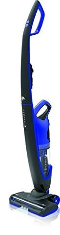 Aspirateur à main Dirt Devil Samurai 18 sans fil, 2 en 1, sans sac, batterie amovible, 18 V Li-Ion, lumière LED sur l'avant schwarz / electric blau