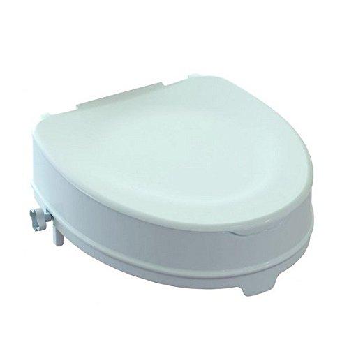 Rialza WC ARES 10 cm con fermi...