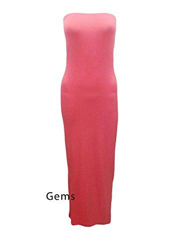 Generic - Robe - Femme Multis Rouge - Corail