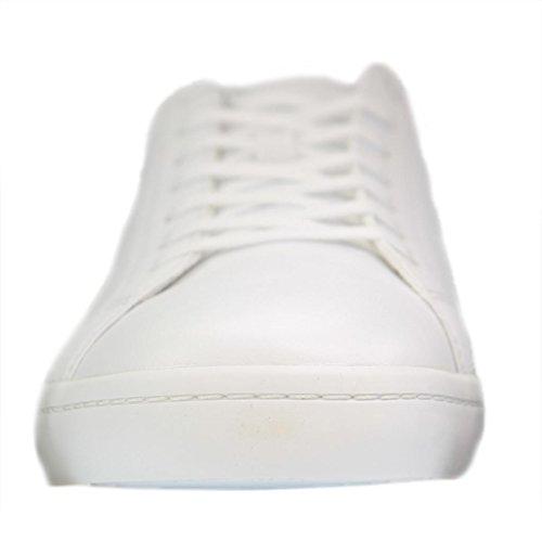 Lacoste Herren Straightset Bl 1 Cam Wht Bässe Weiß