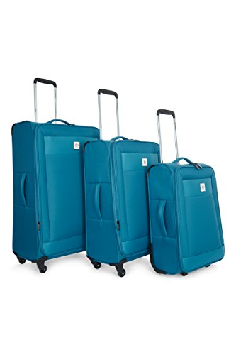 Revelation Revelation Suitcase Nexus D, 4 Wheel Spinner, Set of 3, 77 cm 87 L, Blue Maleta, cm, liters, Azul (Blue)