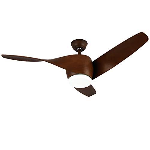 Ceiling fan light ventilatore a soffitto con kit luci a led, ventilatore da soffitto a incasso per interni a led e lampada da soffitto a distanza (3 pale)