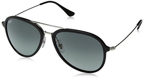 Ray-Ban Unisex-Erwachsene 0RB4298 601/71 57 Sonnenbrille, Black/Greygradientdarkgrey